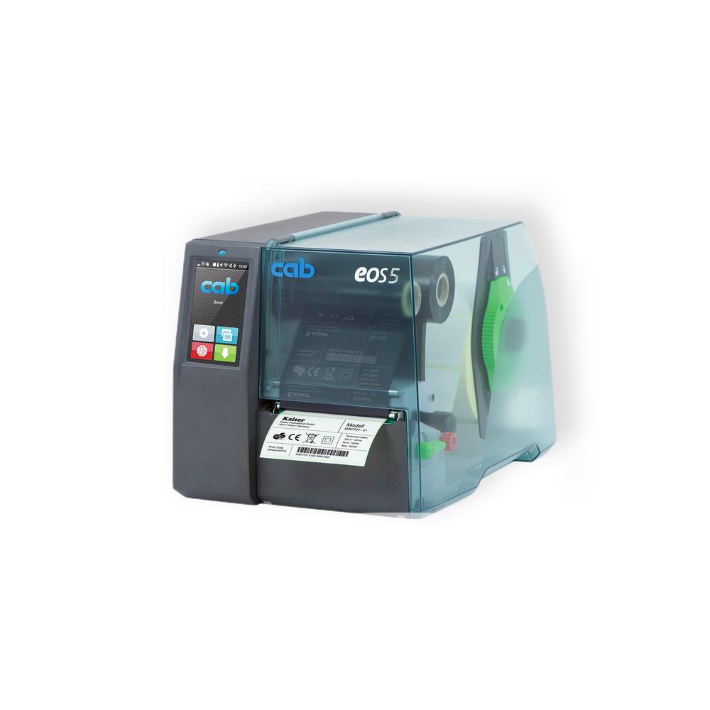 cab eos5 thermal transfer printer