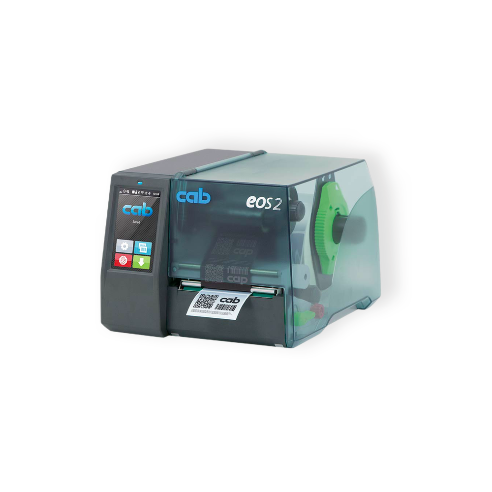 imprimante d'etiquettes transfert thermique cab eos2