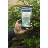 sachet scelle anti spy cam pour smartphone en action