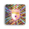 hologram of anti-burglary authentication void standard square format