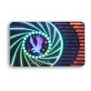 Authentication hologram rectangular void standard
