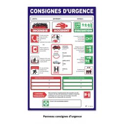 consigne urgences kit entreprise