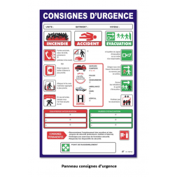 consigne d urgences kit hotels