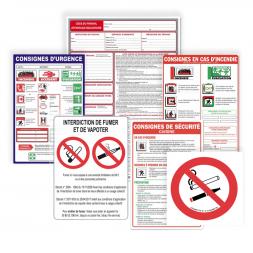 kit affichage obligatoire hotels