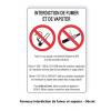 consigne decret interdiction de fumer et vapoter kit entreprise