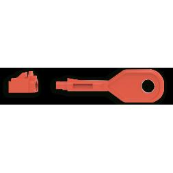key and lock rj45