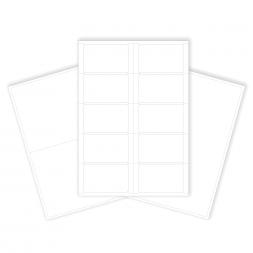 plusieurs modeles d etiquette polyester renforcee en planche a4 laser