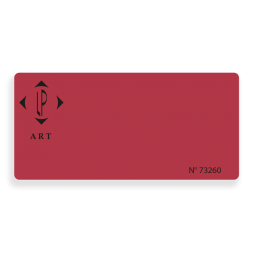 anti-fraud adhesive seal customizes lp art red background