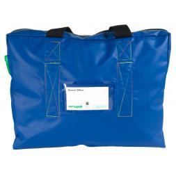 high security transport bag x8 front side