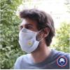 masque en tissu personnalisé avec un logo