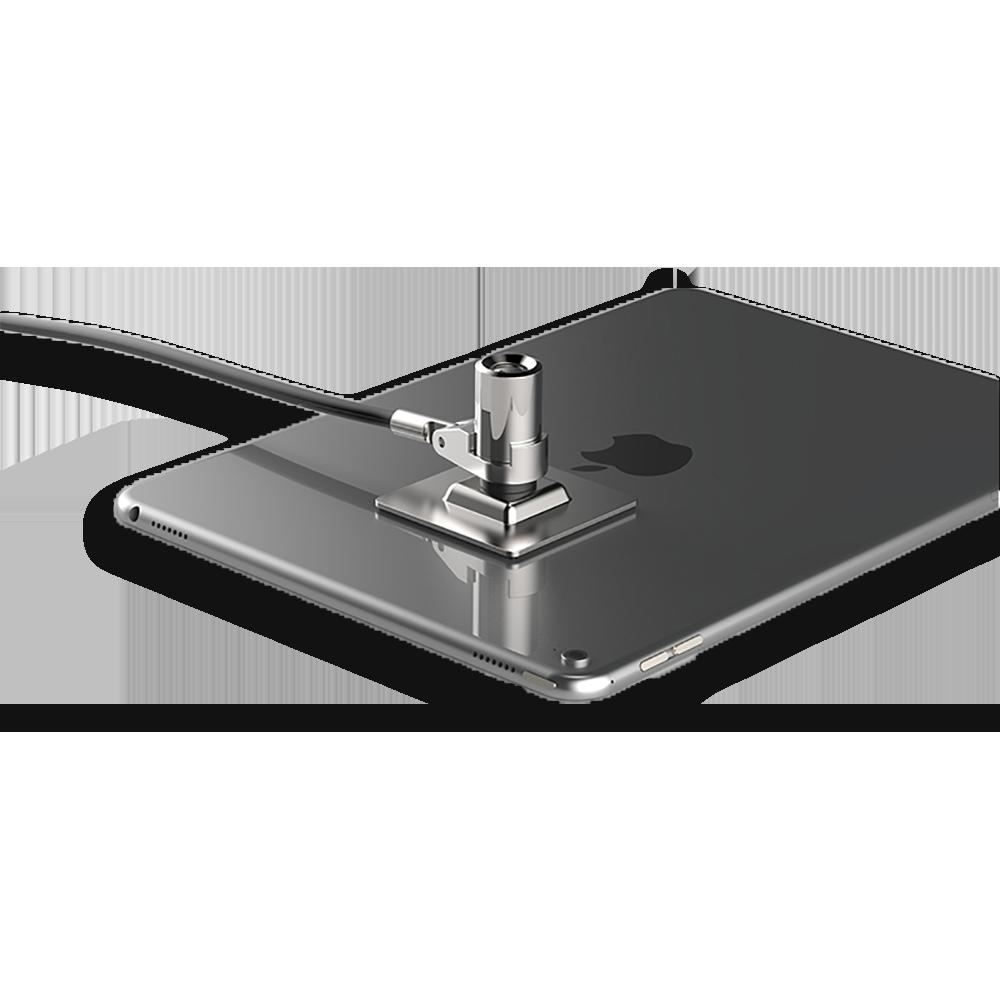 encoche de sécurité safe tech pour cable antivol sur tablette