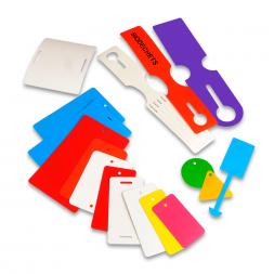 plaque d identification pehd couleur imprimee plusieurs formats