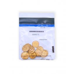 sachet avec pièces d'or