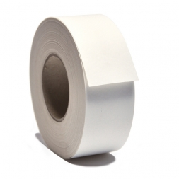 roll of iron-on textile labels