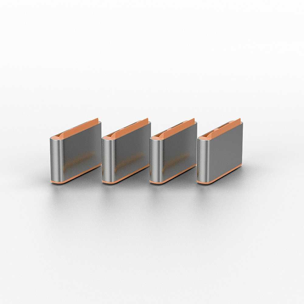 USB blocker orange