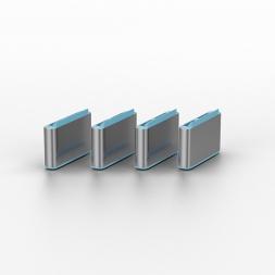 USB blocker blue