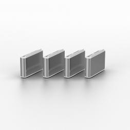 USB blocker white