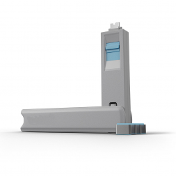 Kit USB Type C port blocker blue