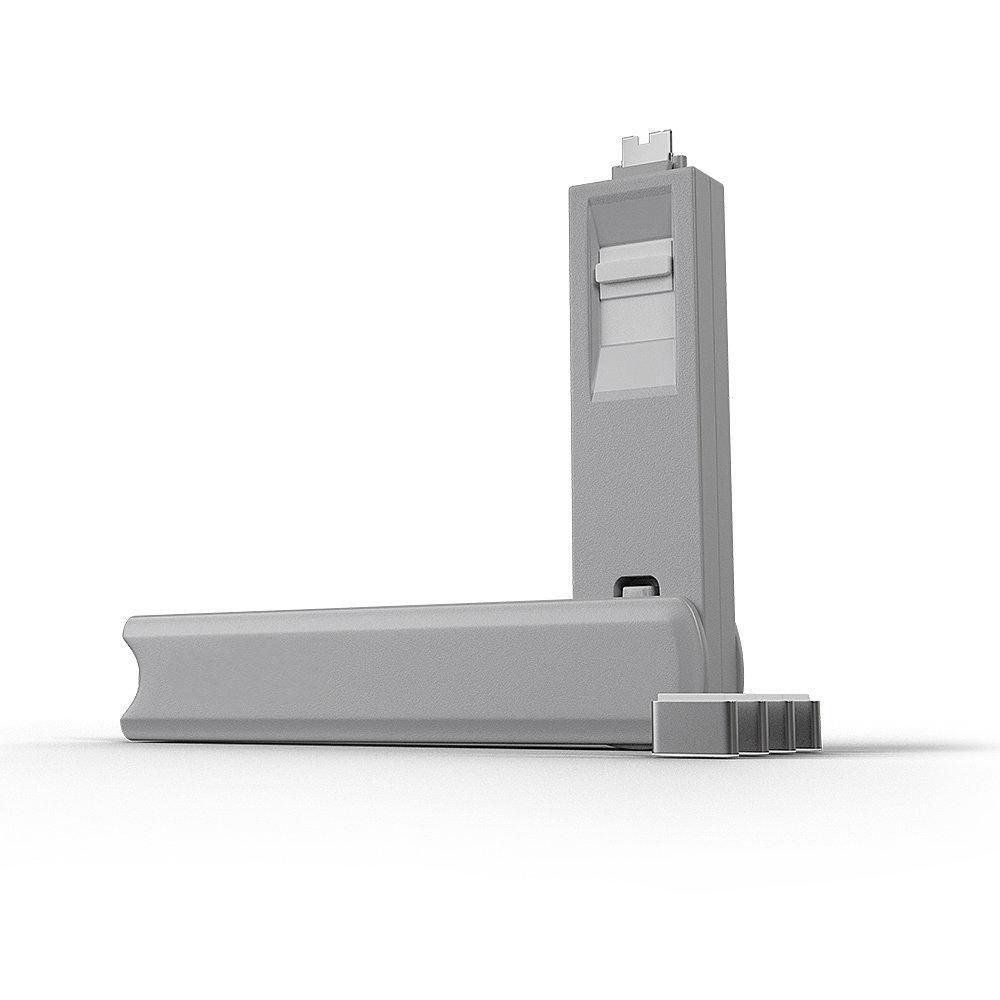 Kit USB Type C port blocker white