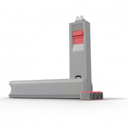 Kit USB Type C port blocker pink