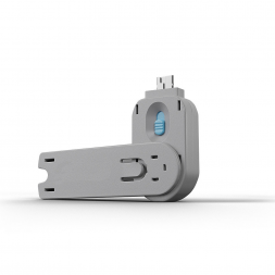 Key for USB blocker blue
