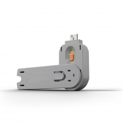 Key for USB blocker orange