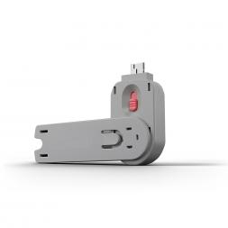 Key for USB blocker pink