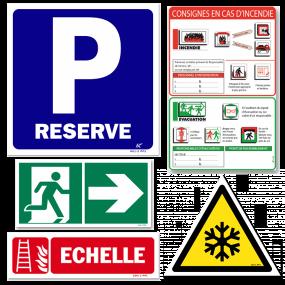 Panneaux de sécurité pour votre zone de travail