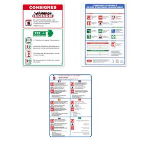 Panneaux de consignes hôtels et hôpitaux