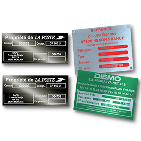 Aluminium Industry nameplates - SBE Direct