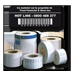 Étiquette transfert thermique