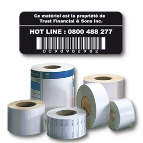 Thermal transfer label - SBE Direct