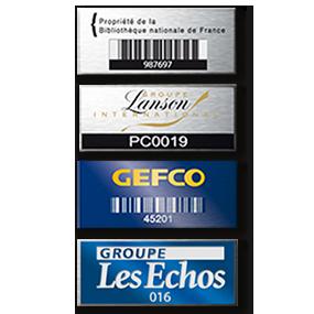 Étiquette QR code
