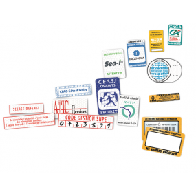 Blank and printed anti-theft security labels - SBE Direct