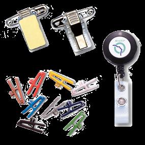 Attaches badge et pinces pour badge - SBE Direct