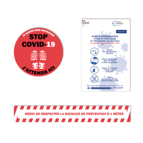 Signalétique coronavirus - SBE Direct