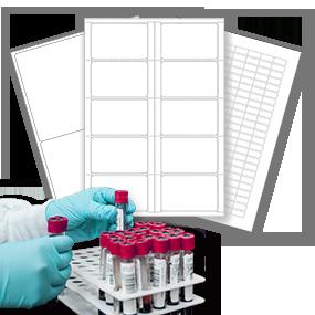 Etiquettes de laboratoire - SBE Direct