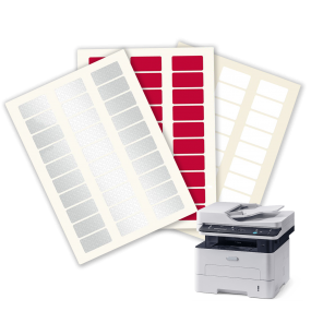 Labels sheets to print with laser printer - SBE Direct