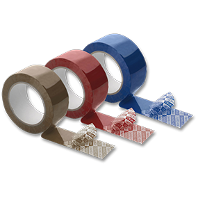 Anti-tamper adhesive seals