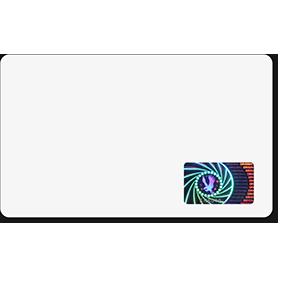 Badge authentication