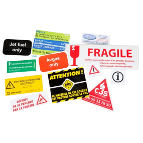 Industrial Stickers - Industrial goods Identification Solution