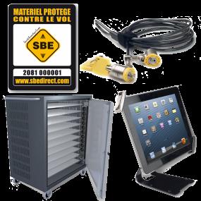 Système antivol pour ordinateurs, tablettes et smartphones