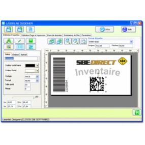Label printing software - asset inventory