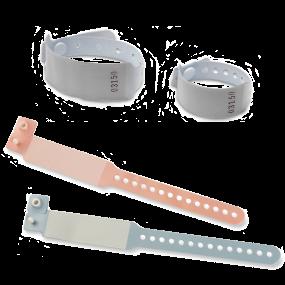 Bracelets sécurisés pour hôpitaux et milieu de la santé