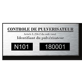 Etiquettes de contrôle