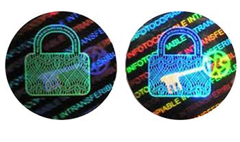 hologramme-sécurisé-holographique-etiquette-étiquette