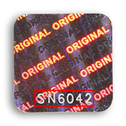 etiquette-hologramme-gravure laser-numéro de série