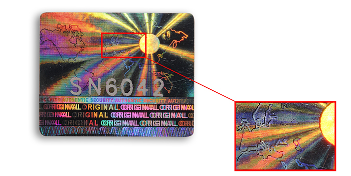 hologram-tampering-point-label-adhesive-holographic-label