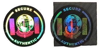 hologramme-moire-securite-holographique-etiquette-étiquette