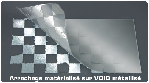 etiquette-polyester-VOID-metallise-laser-arrachage-materialise-void-code-barre-personnalisable